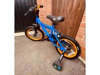 KIDS BIKE 14 inch.... VERY GOOD CONDITION