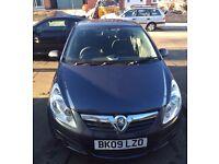 2009 Vauxhall Corsa 1.4 Navy/Blue - 102k Miles - MOT July 17 - Cheap Insurance - Ideal First Car