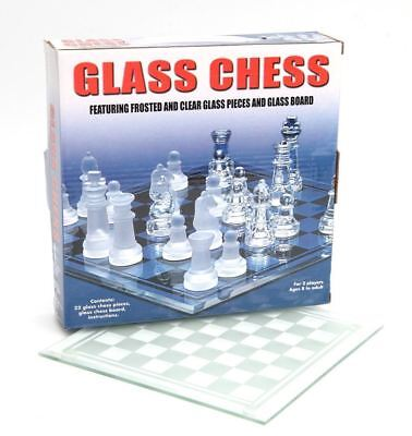 Ajedrez de cristal con tablero juego de mesa Ajedrez chess 20 x...