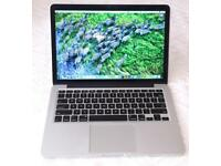 "Apple Macbook Pro 13"" Retina, 8GB RAM, 128GB SSD +Programs"