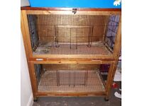 Rabbit or guinea pig indoor cage