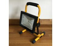 Rechargeable LED work light with charger