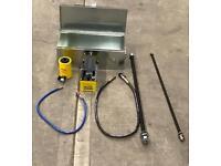 20 Ton Bush Removal Kit c/w Air Foot Pedal
