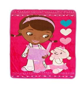 Disney Doc McStuffins MicroPlush Throw Blanket 50 X 60 In