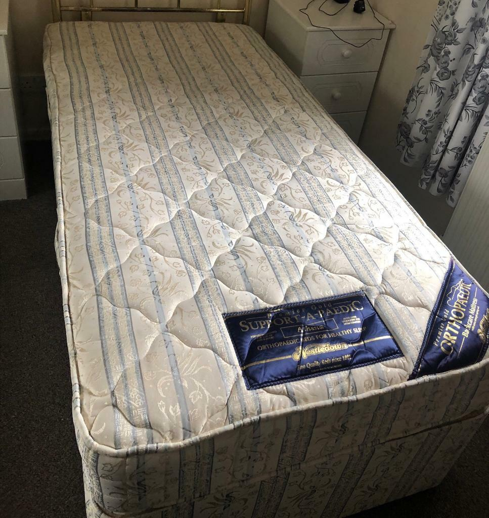 Picture of: High Quality Single Divan Bed In Alloa Clackmannanshire Gumtree