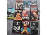 10 TRUE CRIME HARDMEN HARDBACK BOOKS