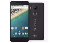 LG Nexus 5X 5.2 Inch Full HD 16GB 4G Mobile Smart Phone - Black