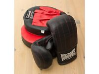 Boxing Gloves & Pads, size M/L