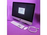 "27"" Apple iMac QuadCore i5 2.7Ghz 8gb 1Tb hd Logic Cubase FL Studio Ableton Waves Izotope Mastering"