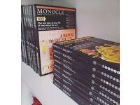 Monocle Magazine — 18 copies — Various 2011-2015