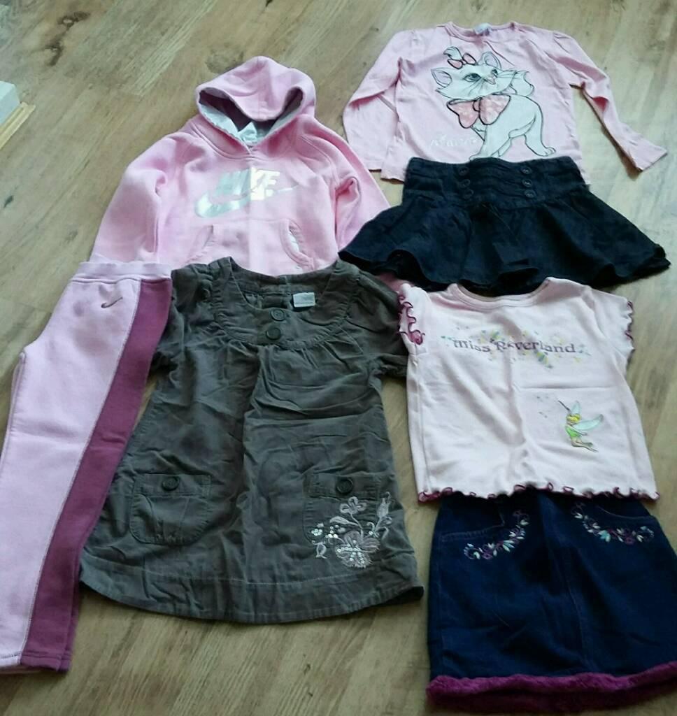 Girls clothes inc Disney, Nike & Next age 6