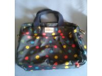 Cath Kidston Blue Spotted Nappy Changing Bag