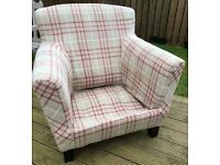 *Now collected* FREE Chair upcycle project Laura Ashley upholstery armchair