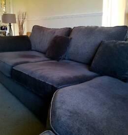 Superb large corner sofa