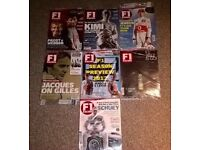 7 issues F1 Racing magazine (sealed)