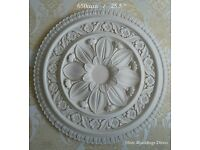 Plaster Mouldings, Ceiling Roses, Cornice, Coving - Manufacturer Portsmouth - Hand crafted