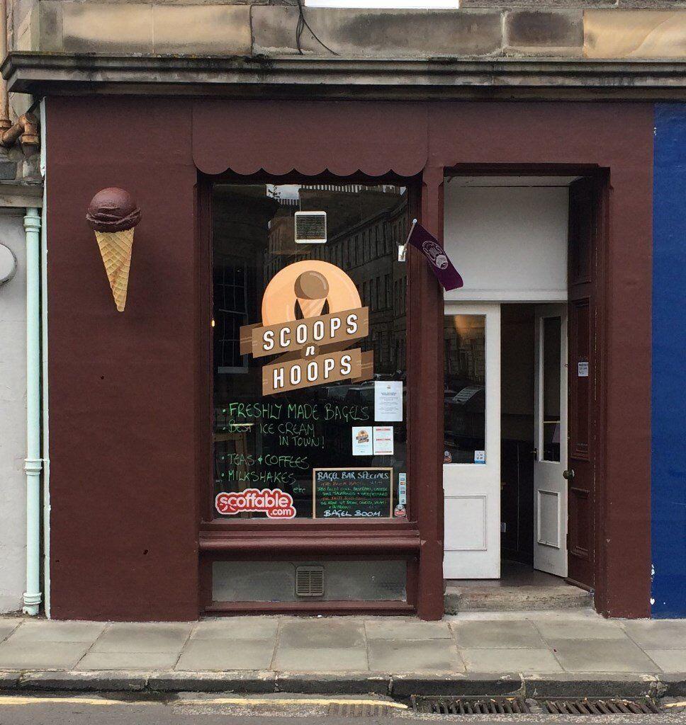 Ice cream/sandwich shop for sale in Stockbridge Edinburgh