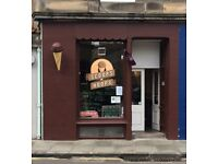 Ice cream/sandwich shop for sale in Stockbridge Edinburgh