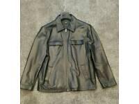 Thomas Nash Leather Jacket L
