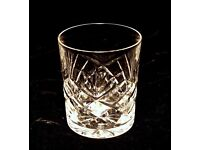 STAR OF EDINBURGH CRYSTAL WHISKY GLASSES