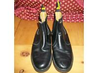 Dr Marten waxed casual boots size 10