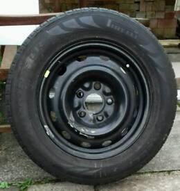 "Spare 16"" wheels for 59 Plate Dodge Journey CRD SXT. Size 215 x 65 x16"