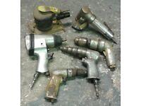 Bundle of 6 Air Compressor Tools