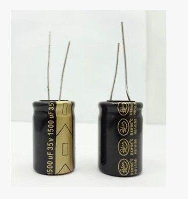 5pcs 1500uf 35v 1500mfd 35volt Electrolytic Capacitor 13mm20mm Radial