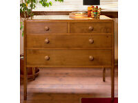 Antique vintage George VI chest of drawers (free delivery within midlothian)