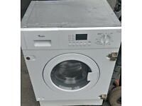 WHIRLPOOL 7KG INTEGRATED WASHER DRYER FREE DELIVERY AND WARRANTY