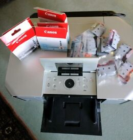 Canon MP970 printer/scanner currently not printing PGBK with several original ink cartridges