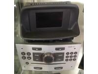 Vauxhall Corsa D CD30 MP3 with GID screen.