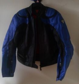 Motorbike leather jacket + trousers