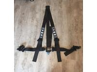 TRS 3 Point Black Harness