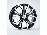 "*Load Rated* x4 20"" Riviera Ultimate Alloy Wheels VW T5 T6 T6.1 Crafter 8.5J"
