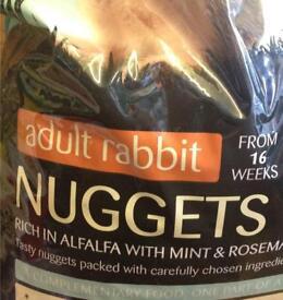 Pets at home rabbit food