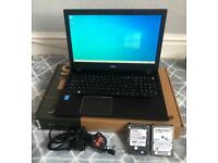 ACER ASPIRE F15 LAPTOP WITH EXTRA DISCS