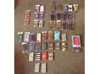 x44 Various Phone Covers (x1 has a small crack but still fine) They are all new