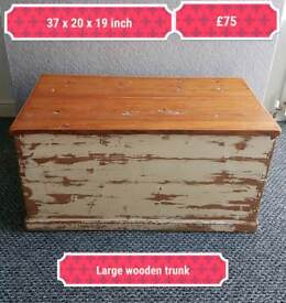 Nice large storage trunk