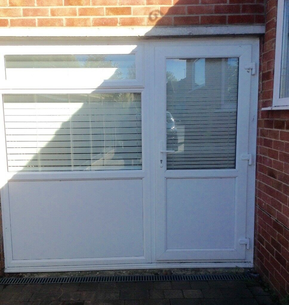 Double glazed Upvc door and window. Ideal for garage door ...
