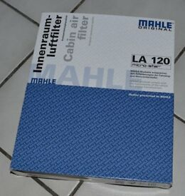 Pollen Filter: LA120 - Skoda, Seat, VW, M-B, Porshe