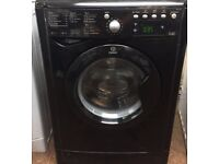 Indesit IWDE7145 7+5kg 1400 Spin Black LCD SensorDry Washer/Dryer 1 YEAR GUARANTEE FREE FITTING