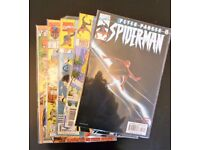 Grab bag of 5 collectible comic books. (Marvel - Peter Parker,Spiderman)