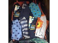 Boys 12-18 months pj bundle