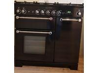Rangemaster Kitchener 90 Dual Fuel range cooker