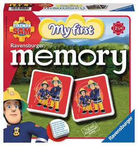 24 Karten Ravensburger Legekartenspiel Fireman Sam My first memory 21204