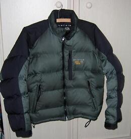 Ski Jacket – Green/Graphite Size 8 – Suitable for Teenager or Woman