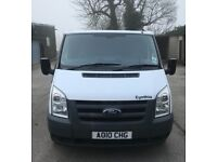 Ford Transit Panel Van 115T280M FWD *Twin side loading doors, boarded out, complete engine overhaul*