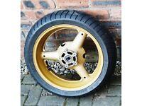 Suzuki Bandit GSF 1200 Rear Wheel & Metzler Tyre ZR17 180/55 RF900