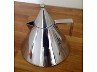 ALESSI IL CONICO STAINLESS STEEL KETTLE BY ALDO ROSSI